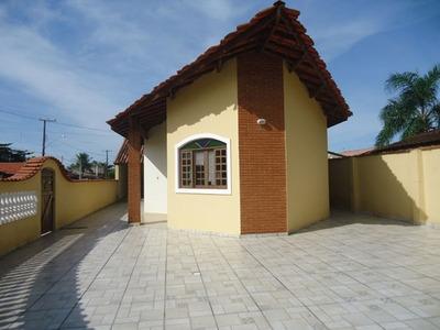 Casa Com Edícula A 350 Metros Da Praia - Jd. Jamaica