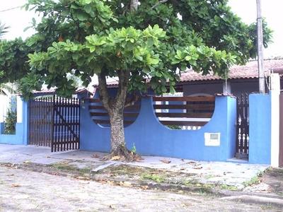 Casa Com Piscina Balneário Beatriz Itanhaém Cod. 406