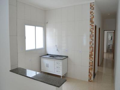Ref.: 617 - Casa Em Itanhaem, No Bairro Belas Artes - 2 Dormitórios
