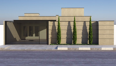 Casa Nova Com 3 Dormitórios Sendo 1 Suíte