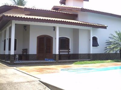 Casa Com Piscina No Jd. Bopiranga Itanhaém Cod. 405