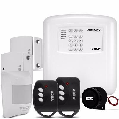 Kit Alarme Segurança Residencial Casa Comercial Ecp Sem Fio