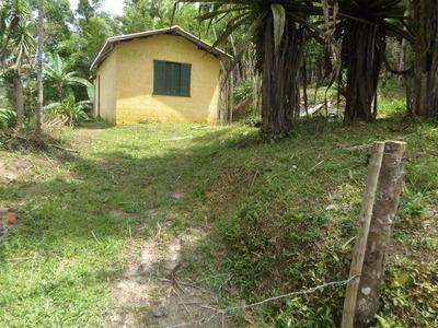 Juquitiba - Linda Cháraca Com Casa Modesta Ref: 04028