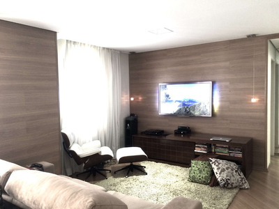 Residencial Club Tuiuti 92m2 - Equipado E Decorado