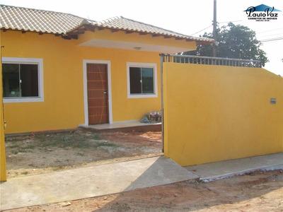 Oportunidade ! Linda Casa Nova Araruama Rj Viaduto 2 Quartos