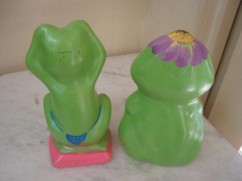 enfeites de sapo para jardim