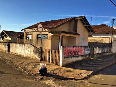 Vende-se Terreno/casa Em Leme - Interior De São Paulo