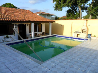 Casa 4 Quartos, 1 Suítes, Piscina-são Pedro Da Aldeia-rj - Codigo: Ca0806 - Ca0806