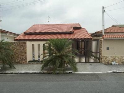 Casa Isolada Em Praia Grande, Jardim Imperador, 3 Dorms.- Ca2459