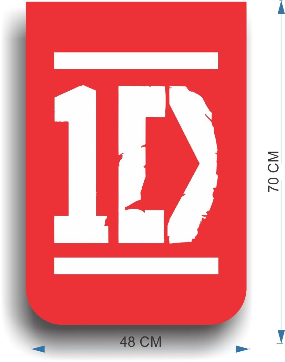 Adesivo Decorativo Parede One Direction 70x48cm Frete Grátis  R$ 59,90 em Me -> Cuba Banheiro Frete Gratis