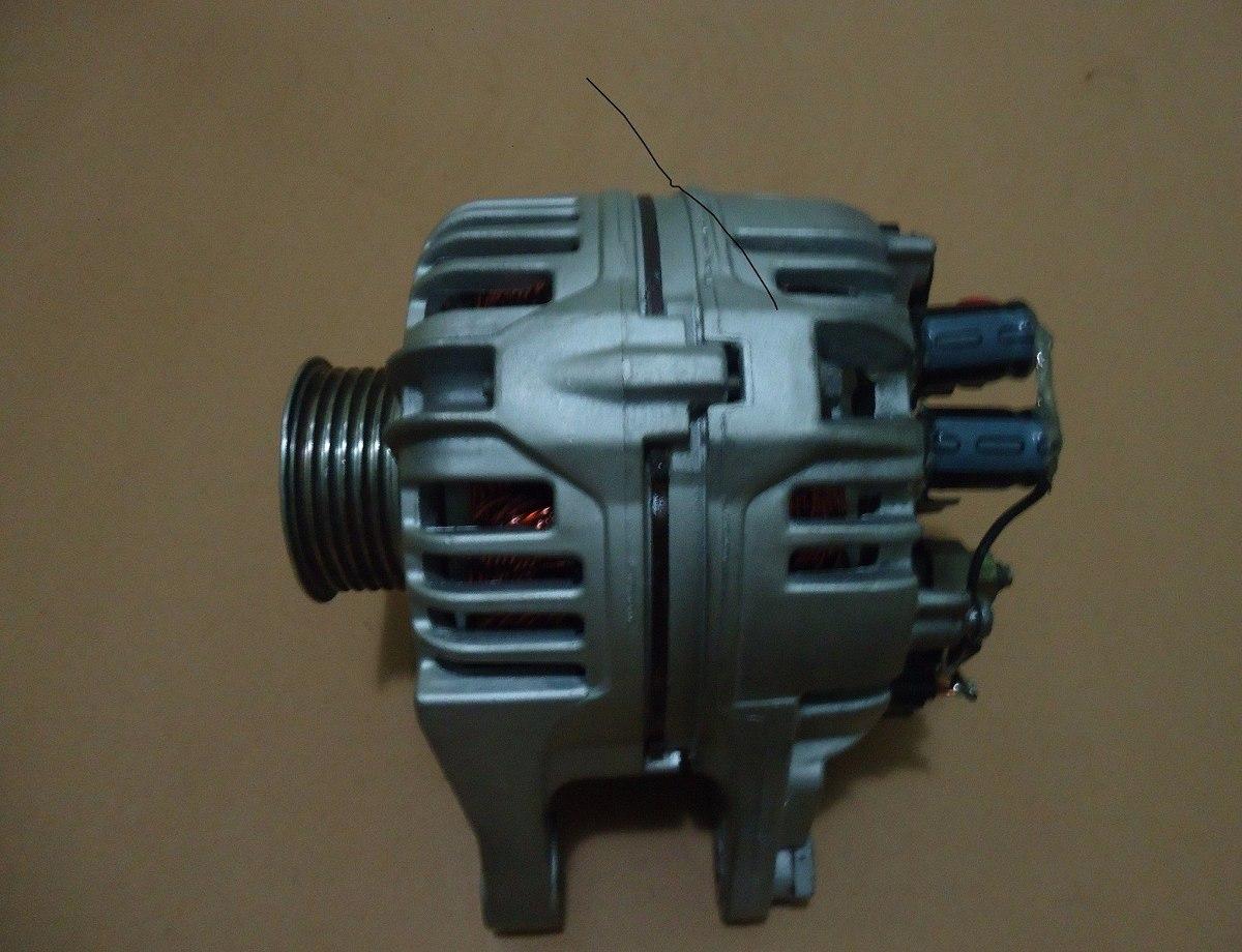 Resultado de imagem para Gerador de energia poder ser feito com alternador comprado no ferro velho