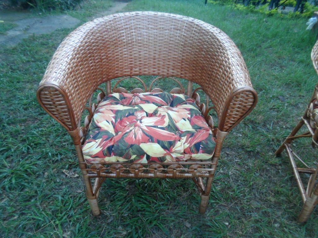 Almofadas Para Cadeira De Piscina Almofada Poltrona De Vime R$ 80  #854655 1024x768