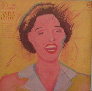 anita o'day  -  the big band sessions - duplo lp - 1983