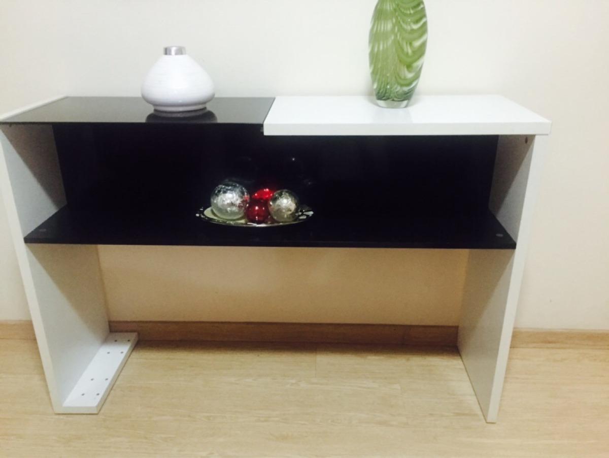 Aparador Moderno De Formica E Vidro Espelhado R$ 220 00 em Mercado  #603F2B 1200x902