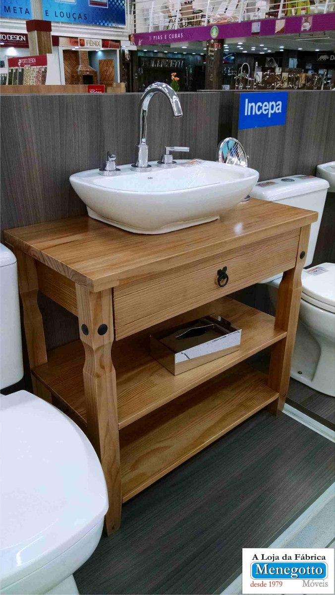 Armario Banheiro; Banheiro;moveis Para Banheiro;em Madeira,  R$ 497,00 em Me -> Armario De Banheiro Com Cuba Mercado Livre