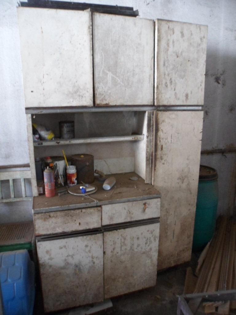 Reformar Armario De Cozinha De Aço : Armario de cozinha antigo anos em a?o marca fiel r