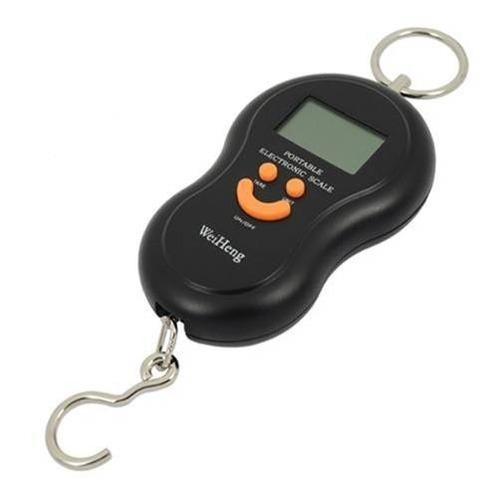 balança digital com gancho para pesca pesa até 40 kg