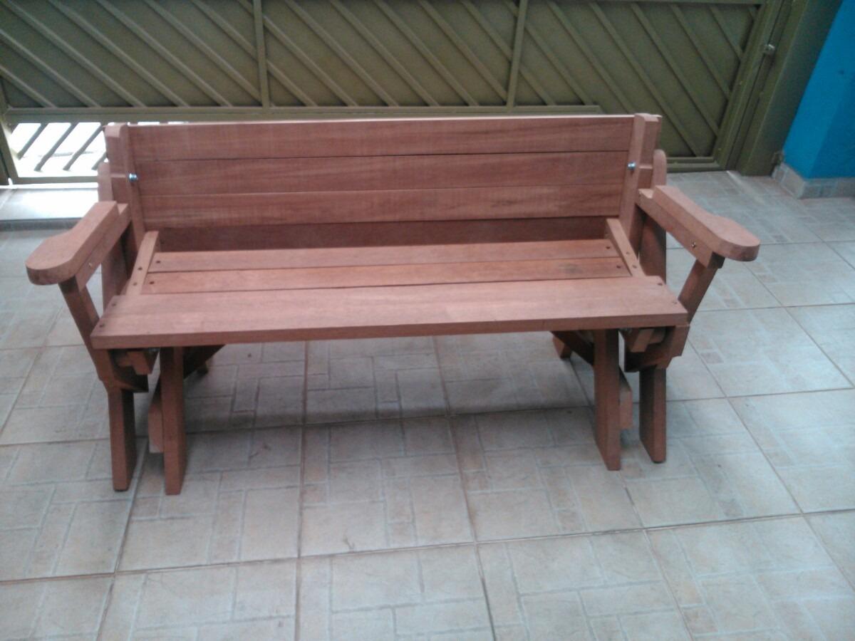 banco jardim que vira mesa:Banco Que Vira Mesa – R$ 900 00 em  #125E7E 1200x900