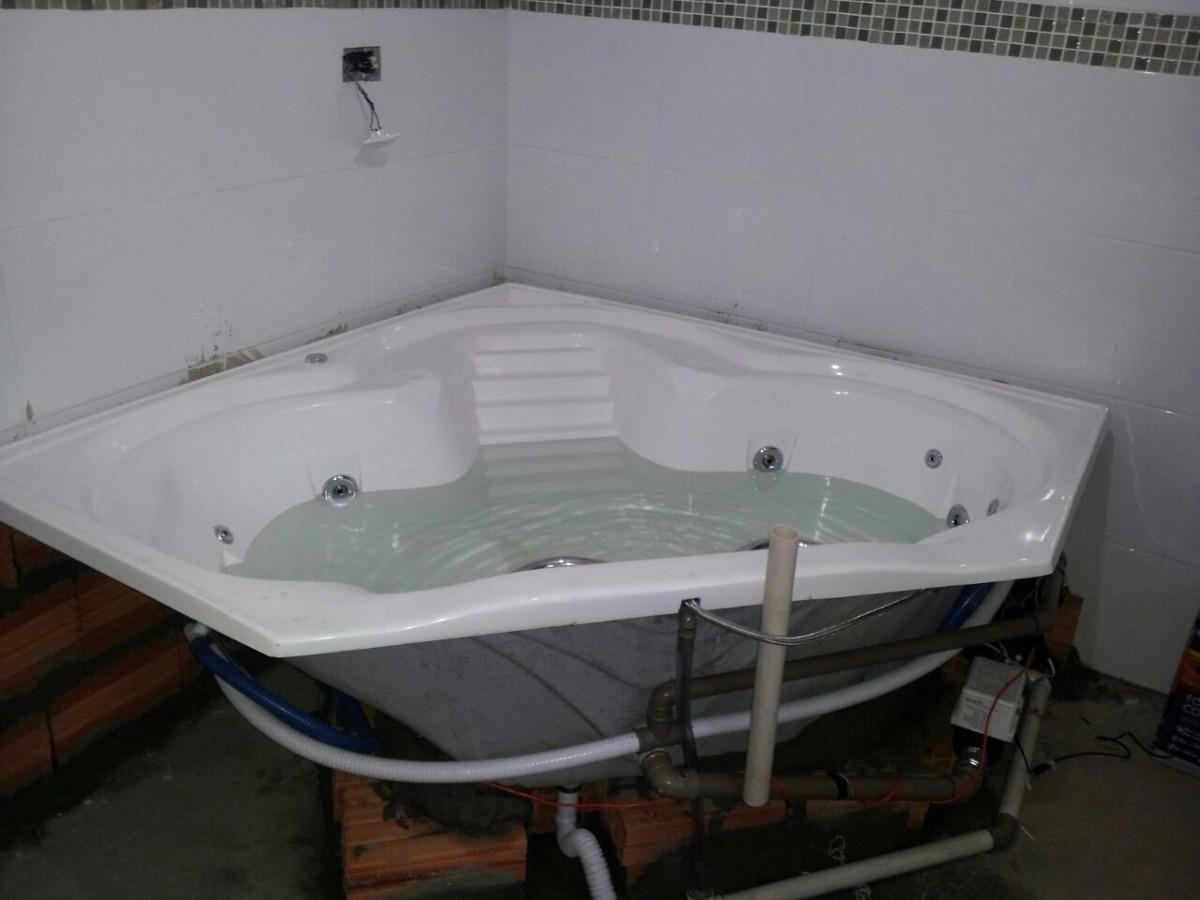 Banheira Para Banheiro Pequeno Mercado Livre  rinkratmagcom banheiros decor # Decoracao De Banheiro Com Banheira De Canto