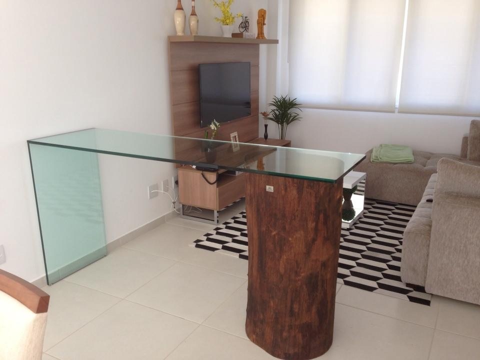 Base para mesa de jantar de tronco de rvore for Mesa de tronco