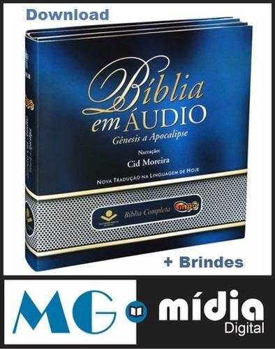 biblia sagrada + todos títulos gravados por cid moreira  mp3