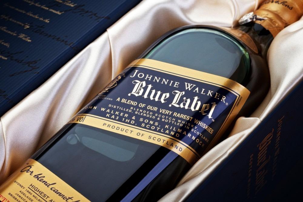 Купить виски Johnnie Walker Blue Label 0.75 л