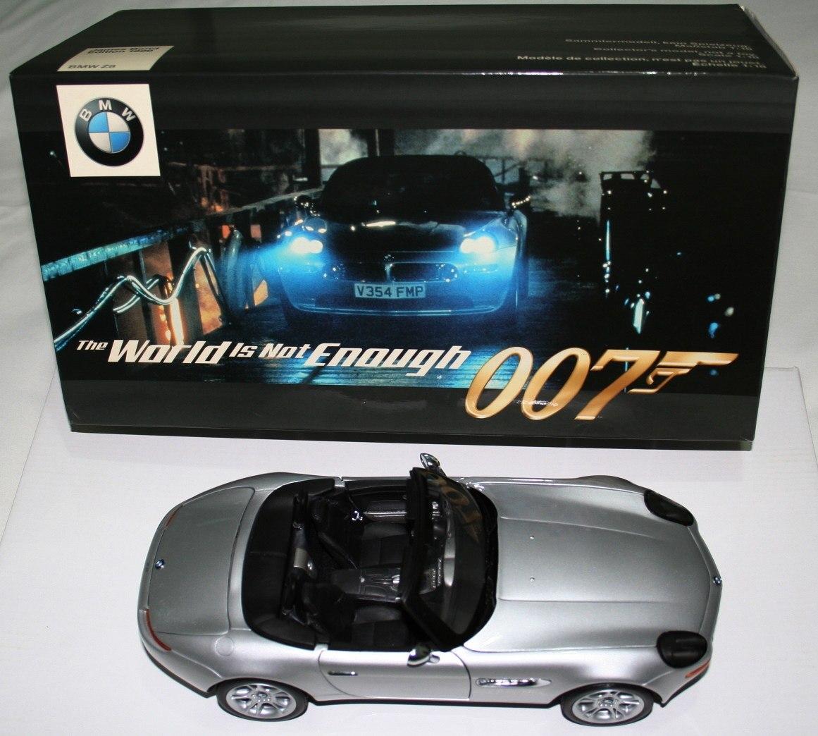 Bmw Z8 Bond: Bmw Z8 James Bond 007 Escala 1:18 Kyosho Dealer Edition