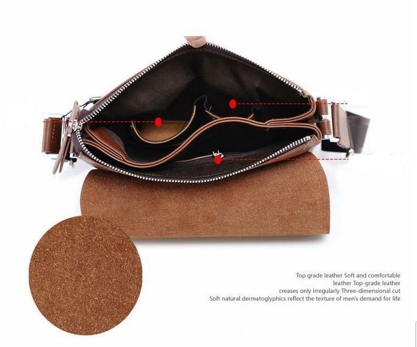 Bolsa De Couro Masculina Mercado Livre : Bolsa de couro tiracolo polo masculina a pronta entrega