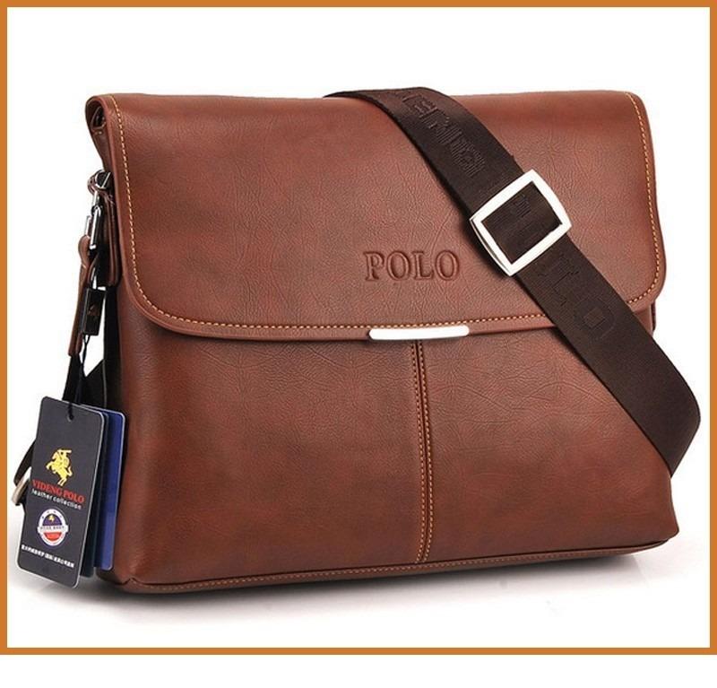 Bolsa De Couro Masculina Armani : Bolsa de couro tiracolo polo masculina a pronta entrega