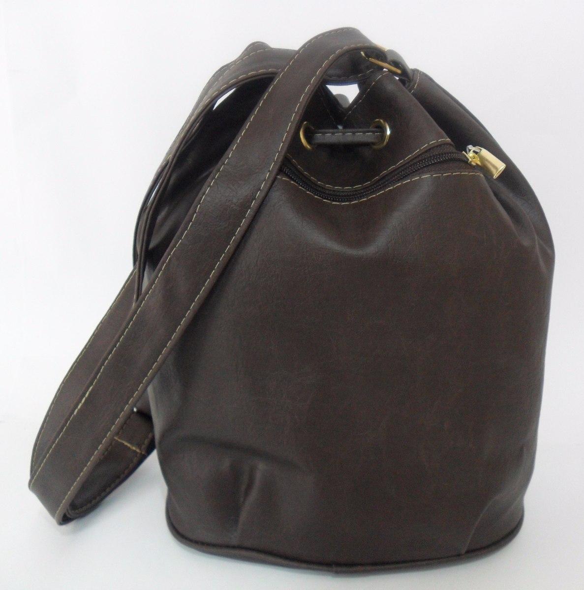 Bolsa De Couro Tipo Saco : Bolsa feminina tipo saco transversal tiracolo couro sint?t