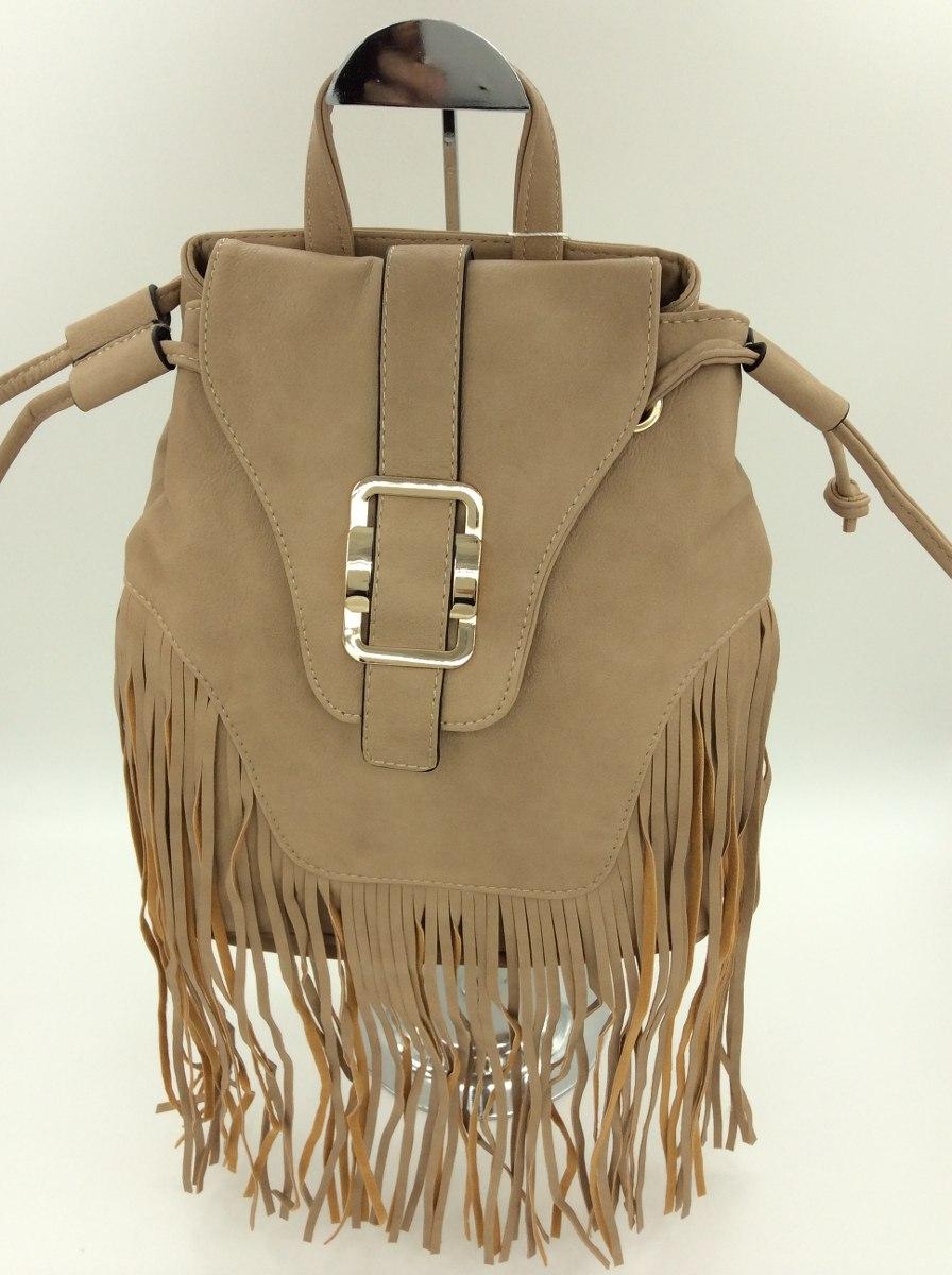 Bolsa Feminina De Couro Nike : Bolsa mochila feminina em couro ecol?gico com franja r