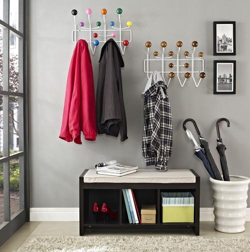 cabideiro charles eames colorido cabideiro de parede r 168 99 em mercado livre. Black Bedroom Furniture Sets. Home Design Ideas