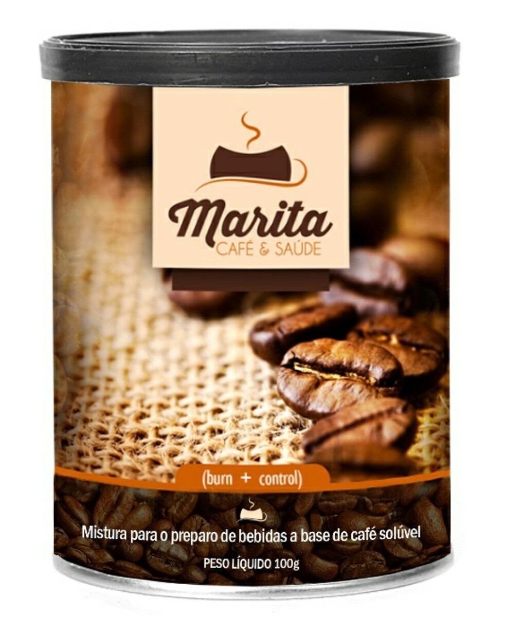 Café Emagrecedor Marita Burn Control + Saúde No Seu Café