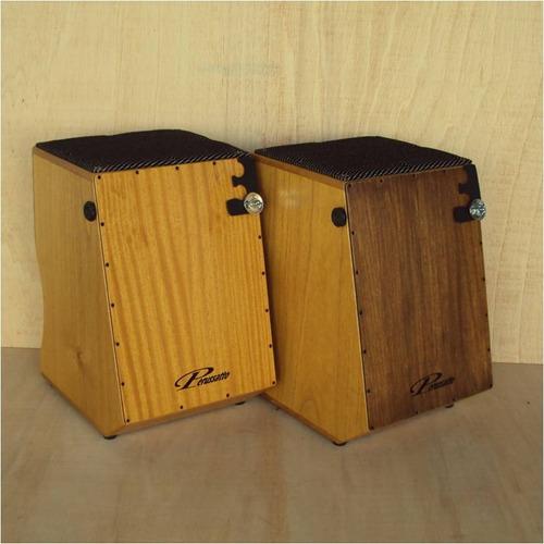 cajón dual perussatto captação dupla + capa +bongo+platinela