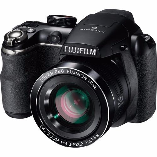 camera digital fuji finepix s4200 14mp zoom 24x filma em hd