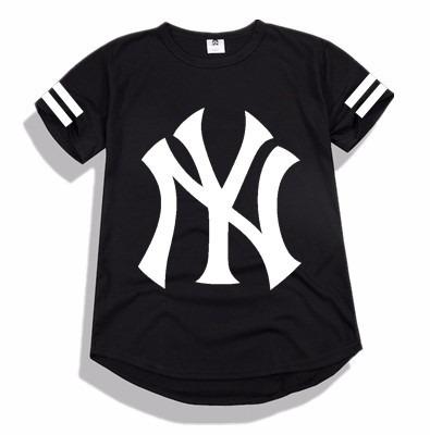 65f9037869 Camisa Oversized Longa Swag Tipo Last Hbo La Ny Kings Top