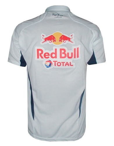 camisa polo red bull branca r 80 00 em mercado livre. Black Bedroom Furniture Sets. Home Design Ideas