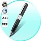 caneta filmadora espiã 8gb audio e video resolução 1281x960