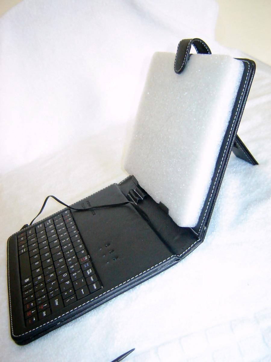 Capa case c teclado usb porta tablet 8 todos os modelos for Tablet samsung con porta usb