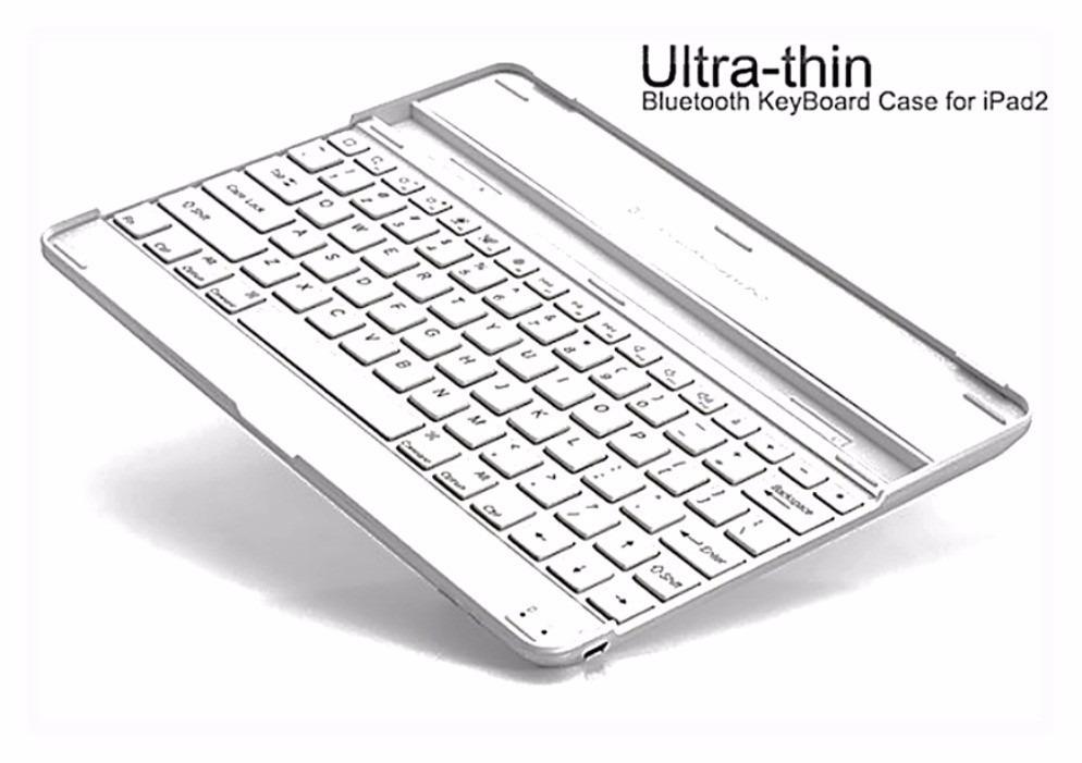 Capa Case Com Teclado Bluetooth Keyboard P/ Apple Ipad 2 E