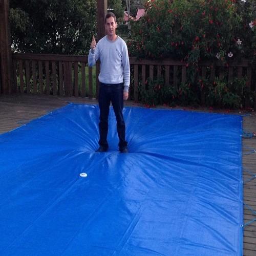 Capa piscina 2 5 x 3 5 lonaforte 3x2 termica frete grati r 260 00 em mercado livre - Piscinas desmontables 3x2 ...