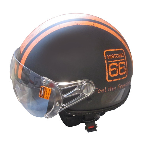 capacete aberto kraft