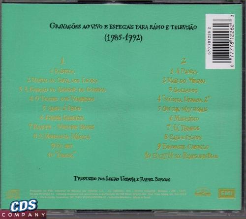 cd legião urbana - música para acampamentos