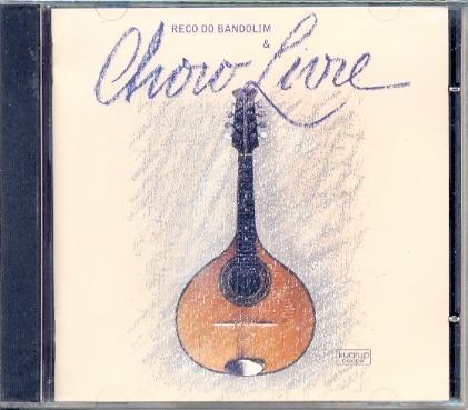 cd reco do bandolim & choro livre - 1999 - lacrado