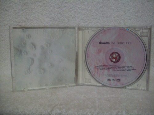 cd roxette- the ballad hits