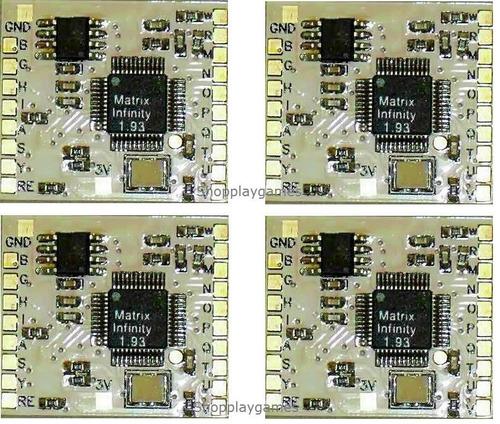 chip dourado matrix infinity 1.93 playstation 2 ps2