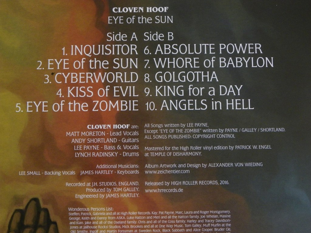 Cloven Hoof - A Sultans Ransom Video Archive