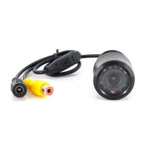 câmera de ré automotiva estacionamento parachoque colorida