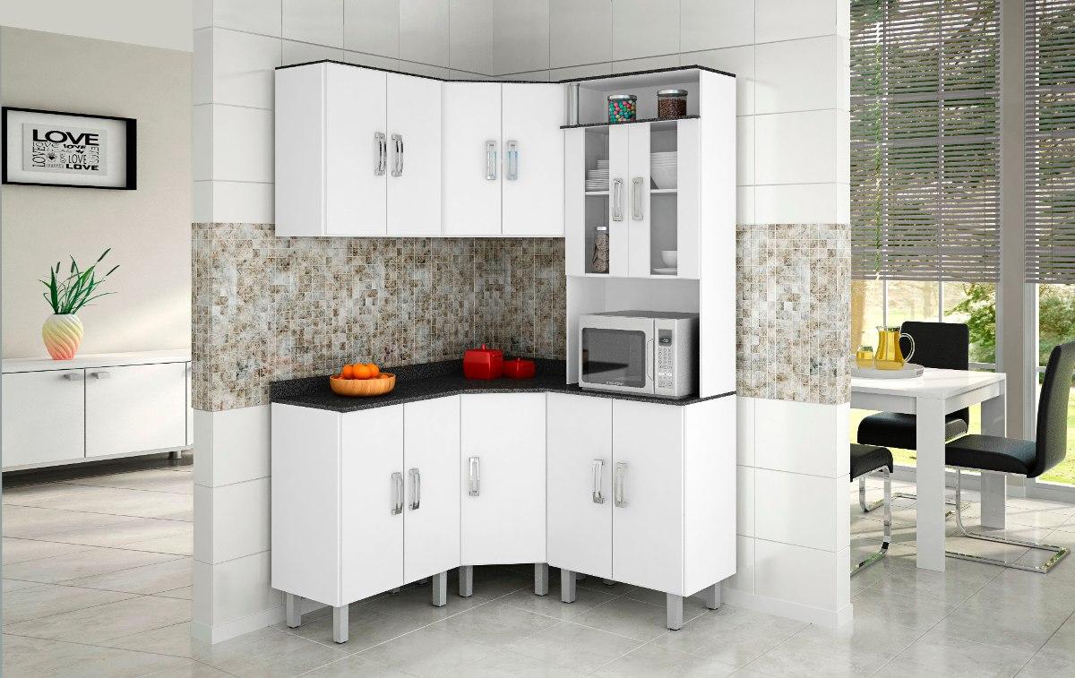 Cozinha Compacta Modulada Beyato Com V Rios Desenhos Sobre