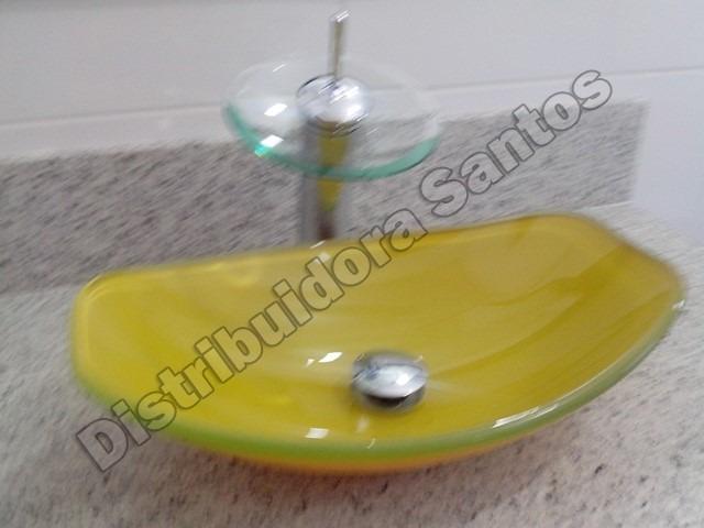 Cuba Vidro Oval Chanfrada Amarela  Frete Grátis!  R$ 539,85 em Mercado Livre -> Cuba Banheiro Frete Gratis